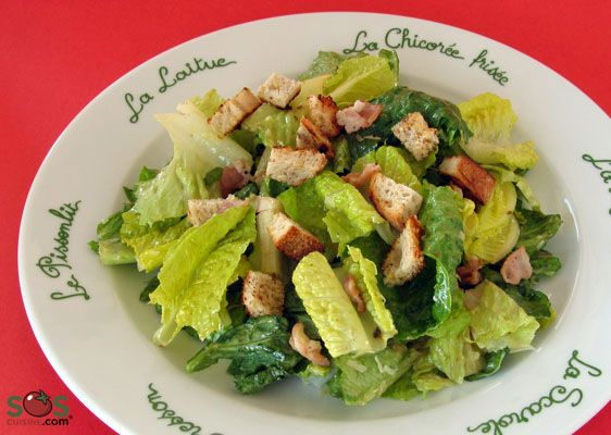 Recette - Salade César | SOS Cuisine