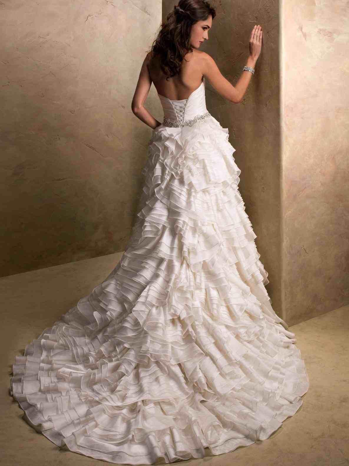 Top 10 New Post Wedding Dresses Corset Bodice Visit Wedbridal Site