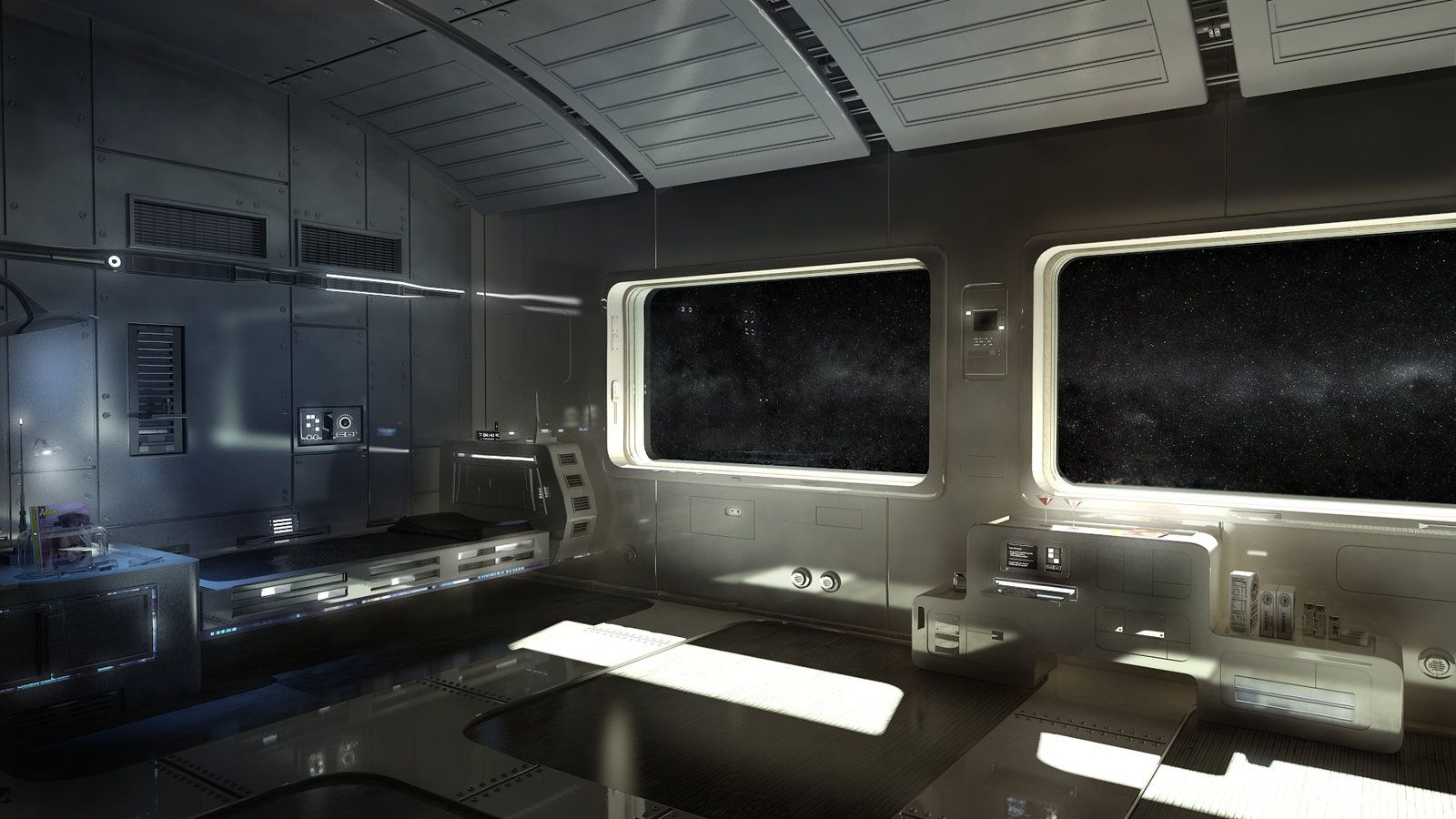 Medium Of Sci Fi Bedroom