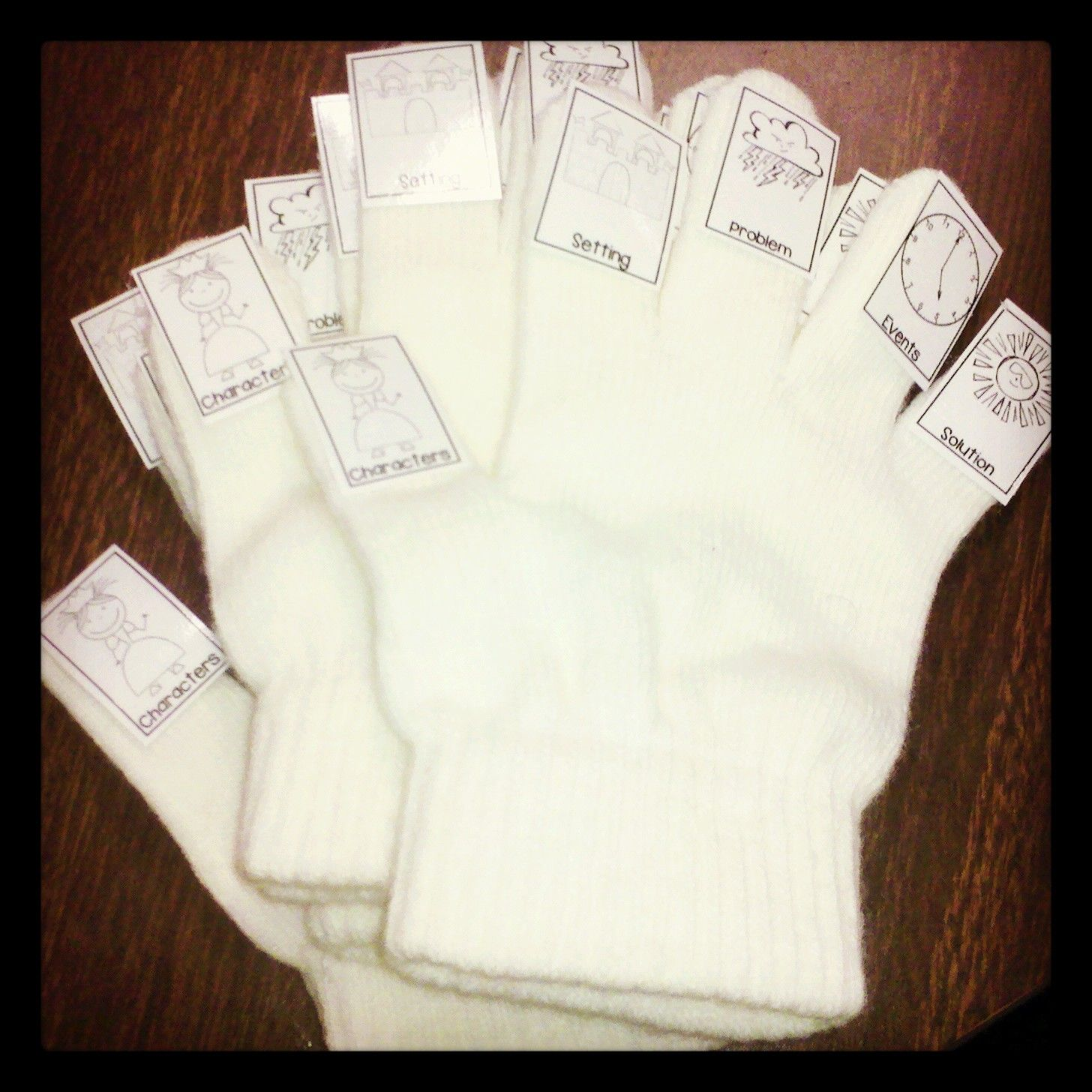 Story Retelling Gloves To Help Students Increase Their Reading Comprehension Skills