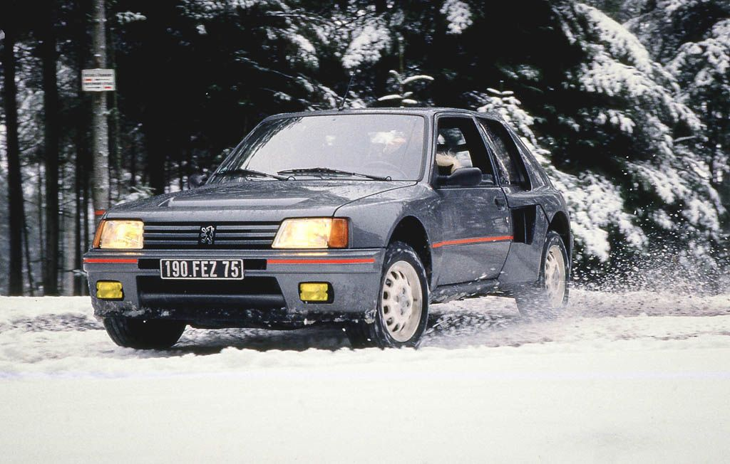 Peugeot 205 T16 Road Car In Perfect Grey Colour Peugeot