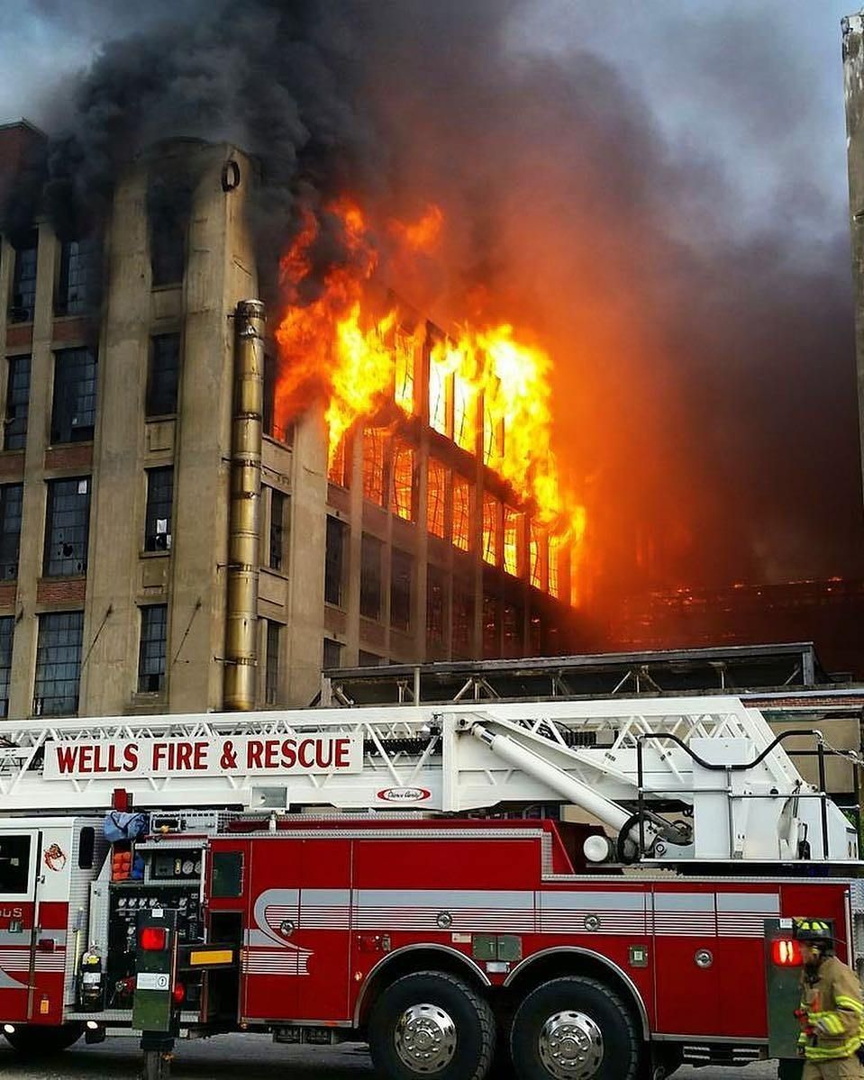 Featured post kempterfirewire large mill fire in york