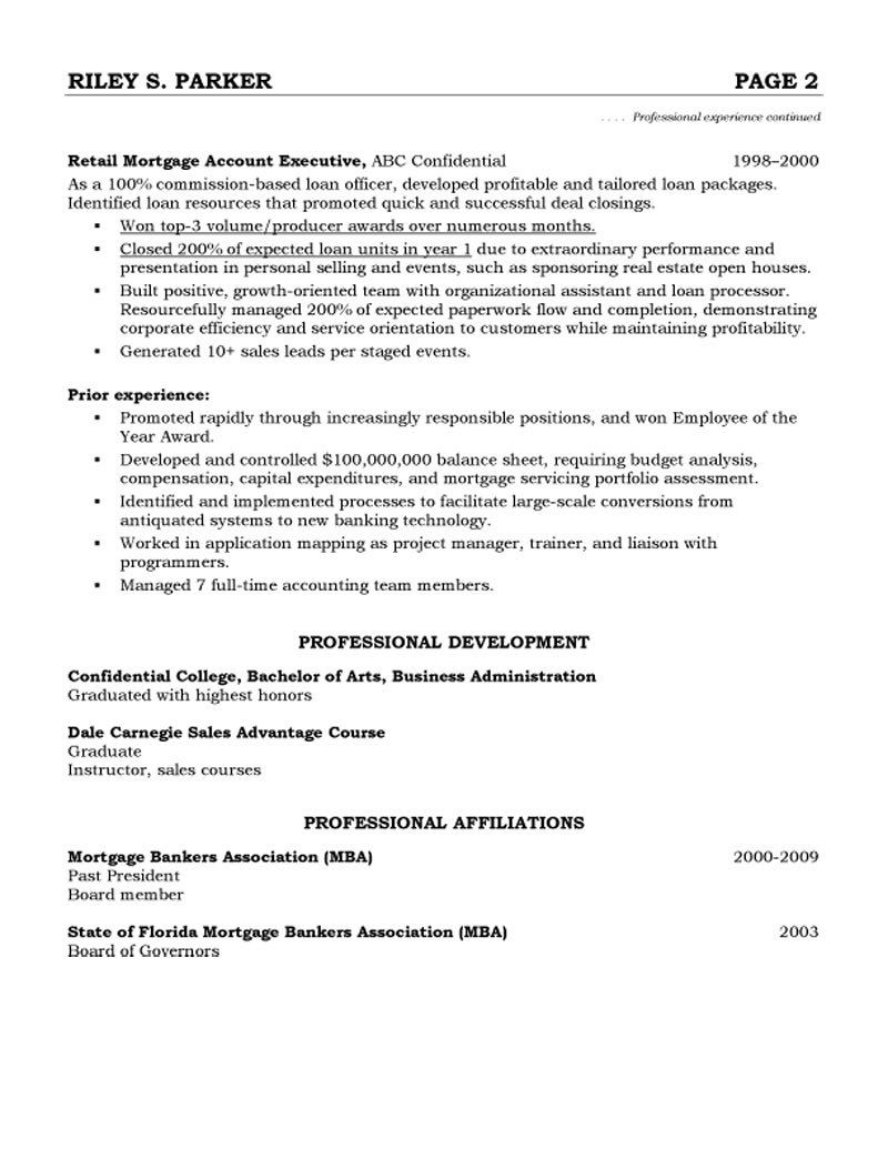advertising account manager resume