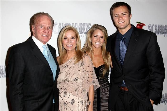 Frank Gifford, d. at the age of 84, Aug. 2015. The Gifford family.