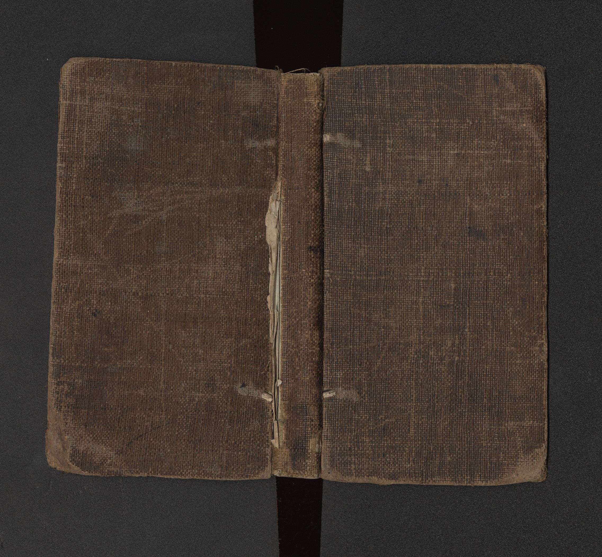 Collins 322. London, 1797. Canvas Binding.