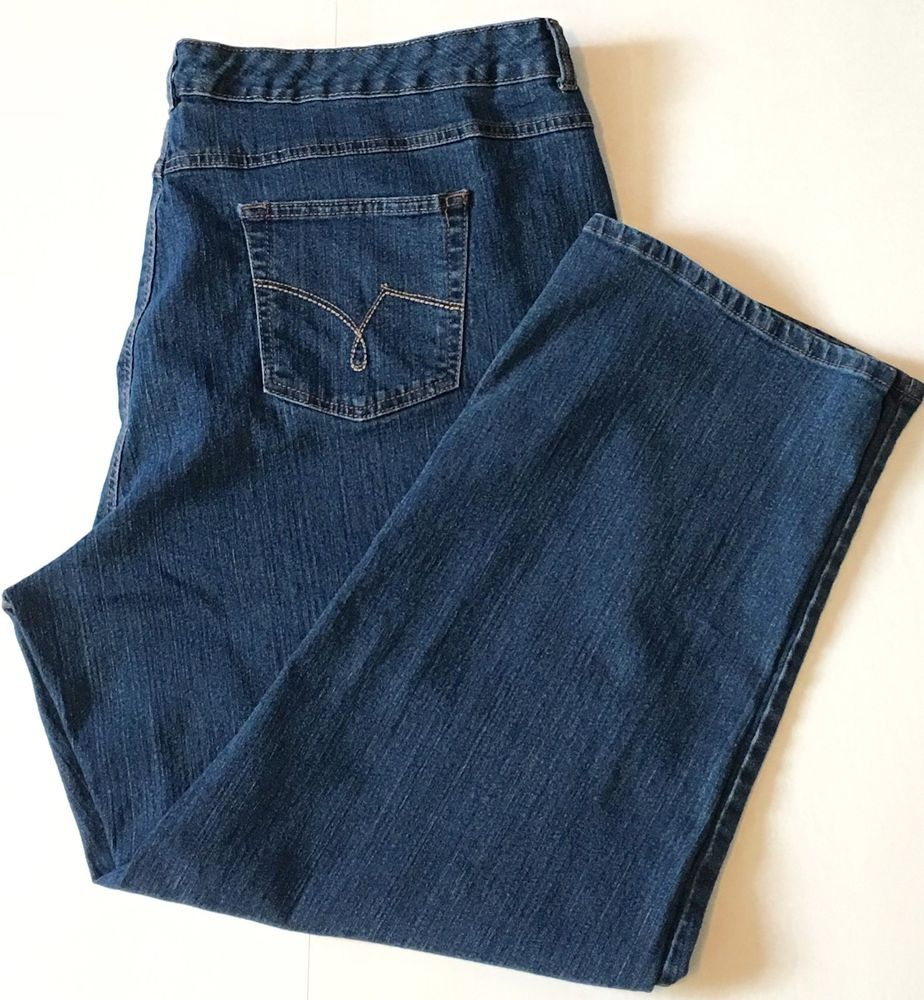 97fef784a2 JMS Just My Size Womens Plus Size Jeans 26W Stretch Classic