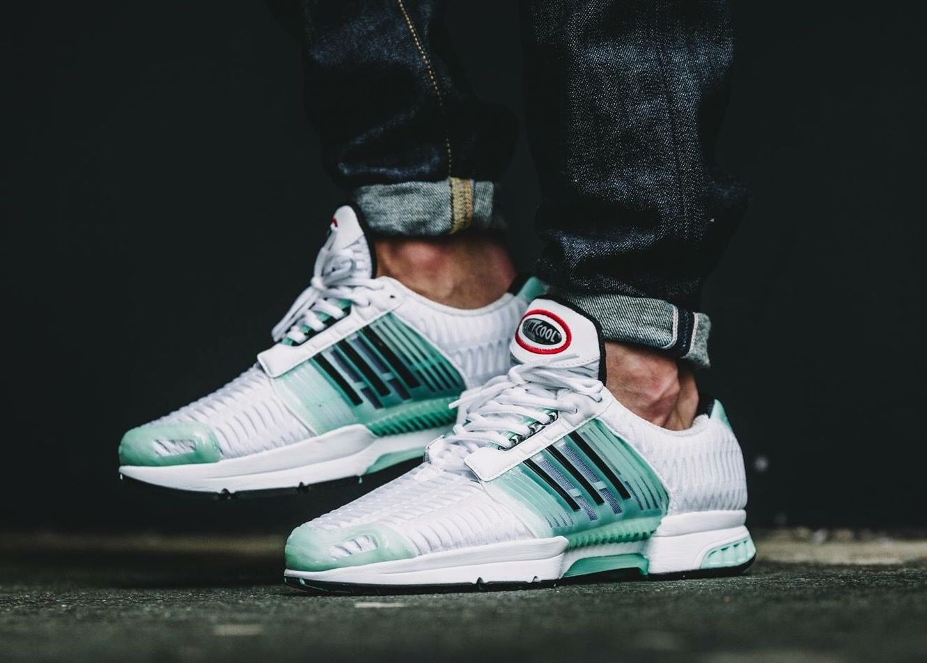best sneakers 56147 b0965 adidas Originals Climacool 1  White Green