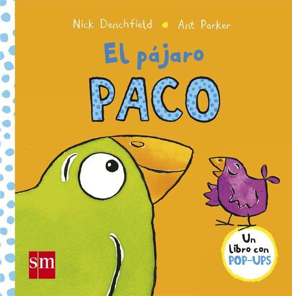 Paco y Pico son dos pájaros a los que les gusta hacer lo mismo. Pero ellos son muy diferentes. Un divertido libro con pop-ups para niños de 2 años.