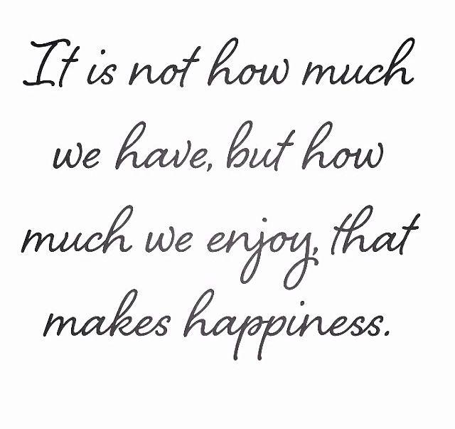 how much we enjoy #simplify