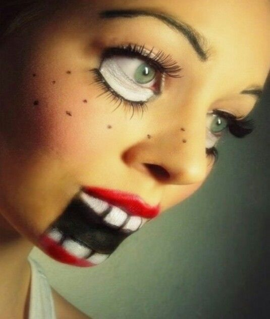 Pin by L K on halloween Pinterest - cool makeup ideas for halloween