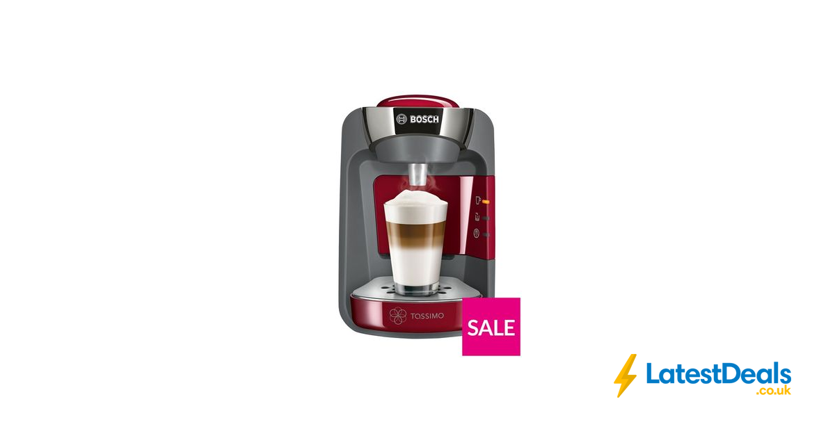 Tassimo Suny Coffee Maker Red, £54.99 at Very in 2019
