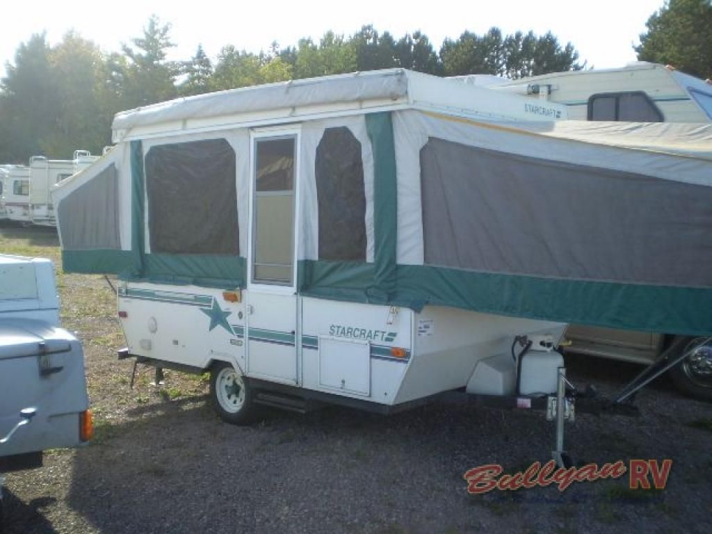 Used 1995 Starcraft Stardust 1021 Folding Pop Up Camper At Bullyan