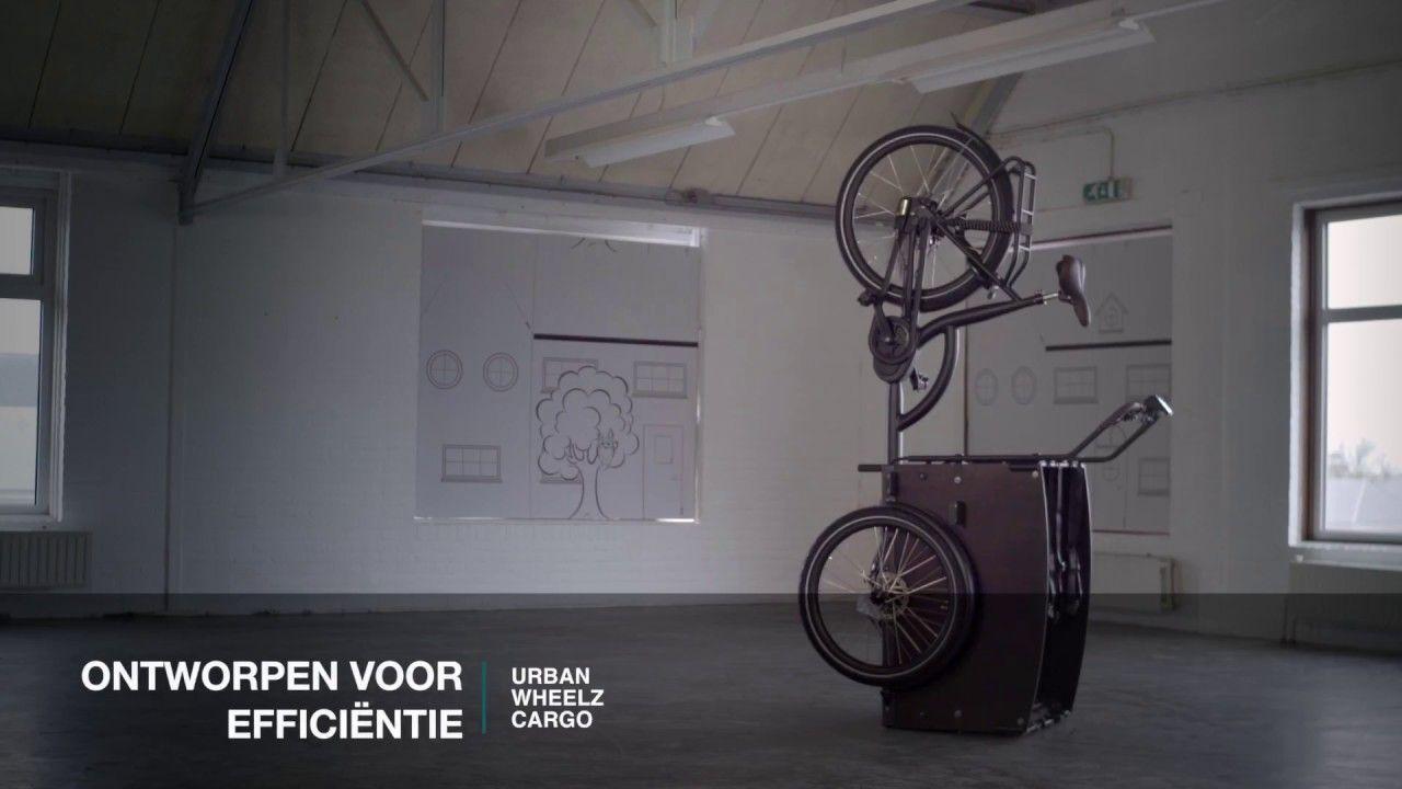 Parkeren Van De Elektrische Bakfiets Urban Wheelz Cargo Ruimte