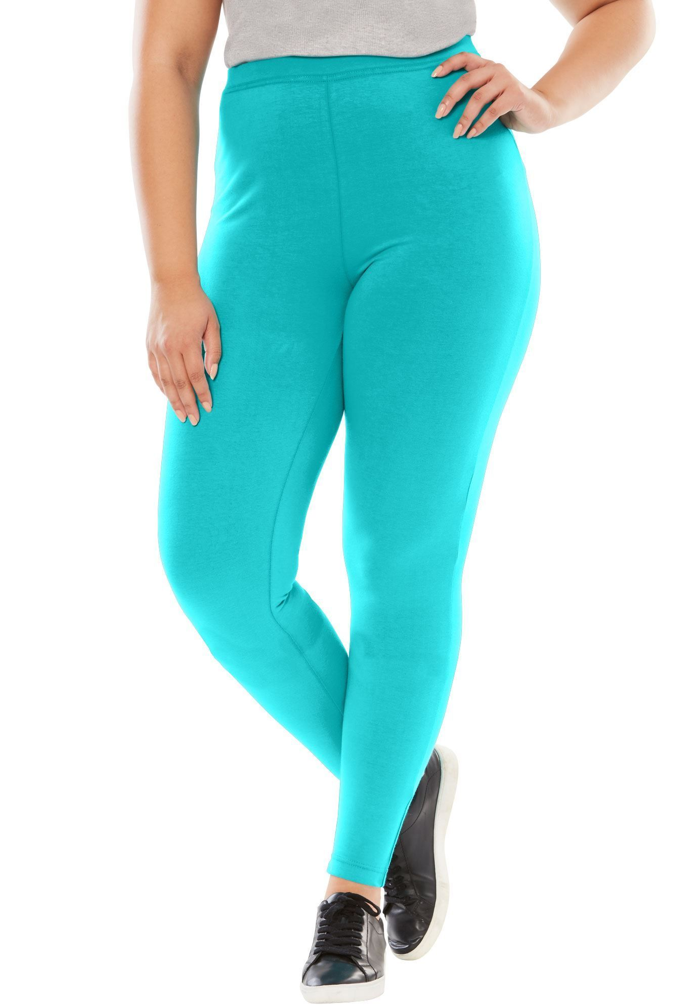 7e228cfc1ce Tall leggings in stretch knit - Women s Plus Size Clothing ...