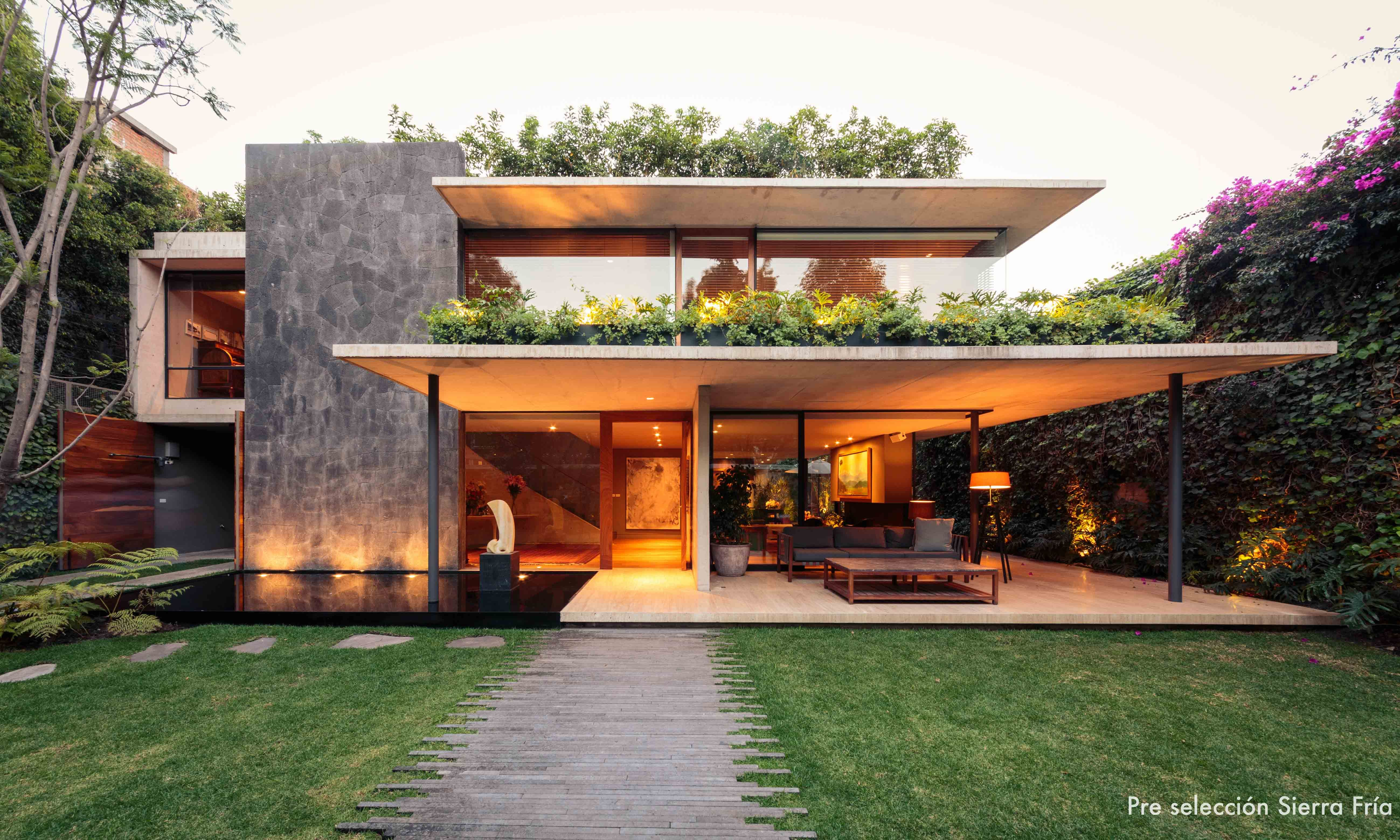 Casa sierra fria m xico d f jose juan rivera rio for Arquitectos de la arquitectura moderna