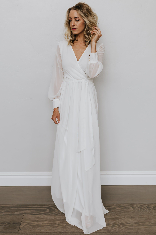 35++ Off white long sleeve dress ideas