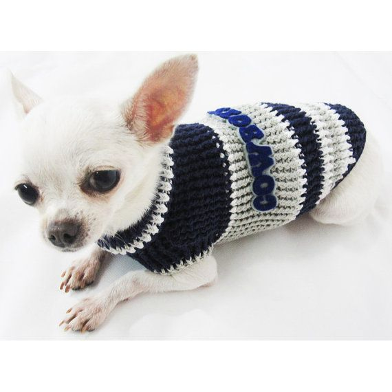 Dallas Cowboys American Football League Super Bowl Dog by myknitt ... 10c6c28c2