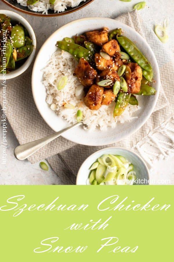 Crispy Szechuan Chicken with Snow Peas