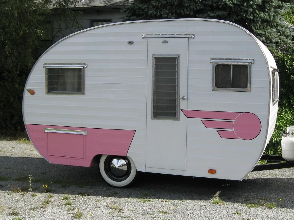 How Cute Is This Travel Trailers Camper Trailer For