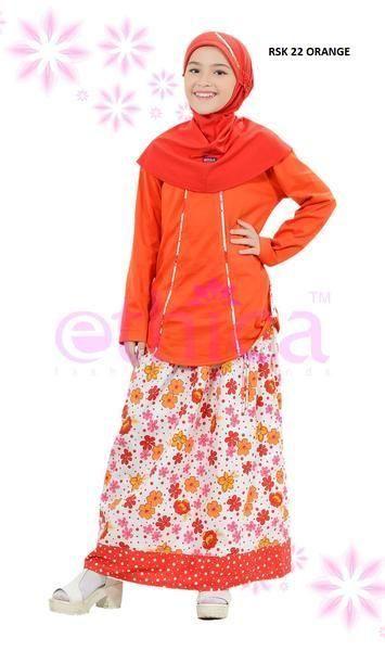 Jual Beli Baju Setelan Anak Ethica Kids Terbaru Rsk 22 Orange Di