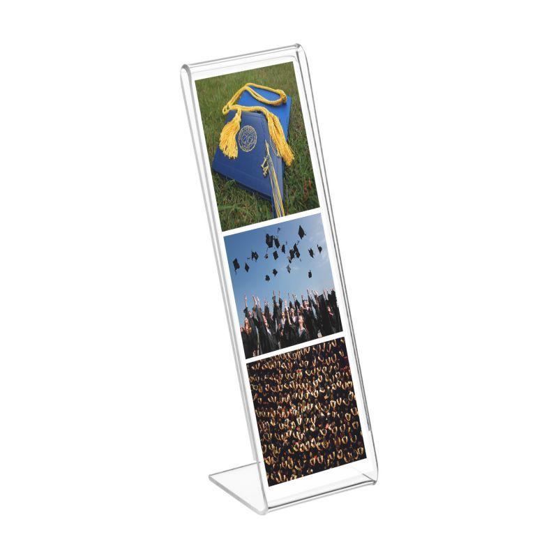 2x6 Slant Back Acrylic Photo Booth Frame - Buy Acrylic Displays ...