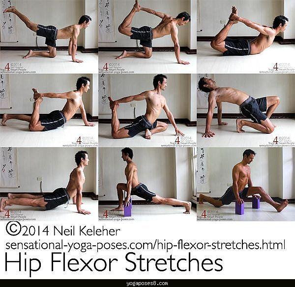 Nice Yoga Poses Hip Flexors