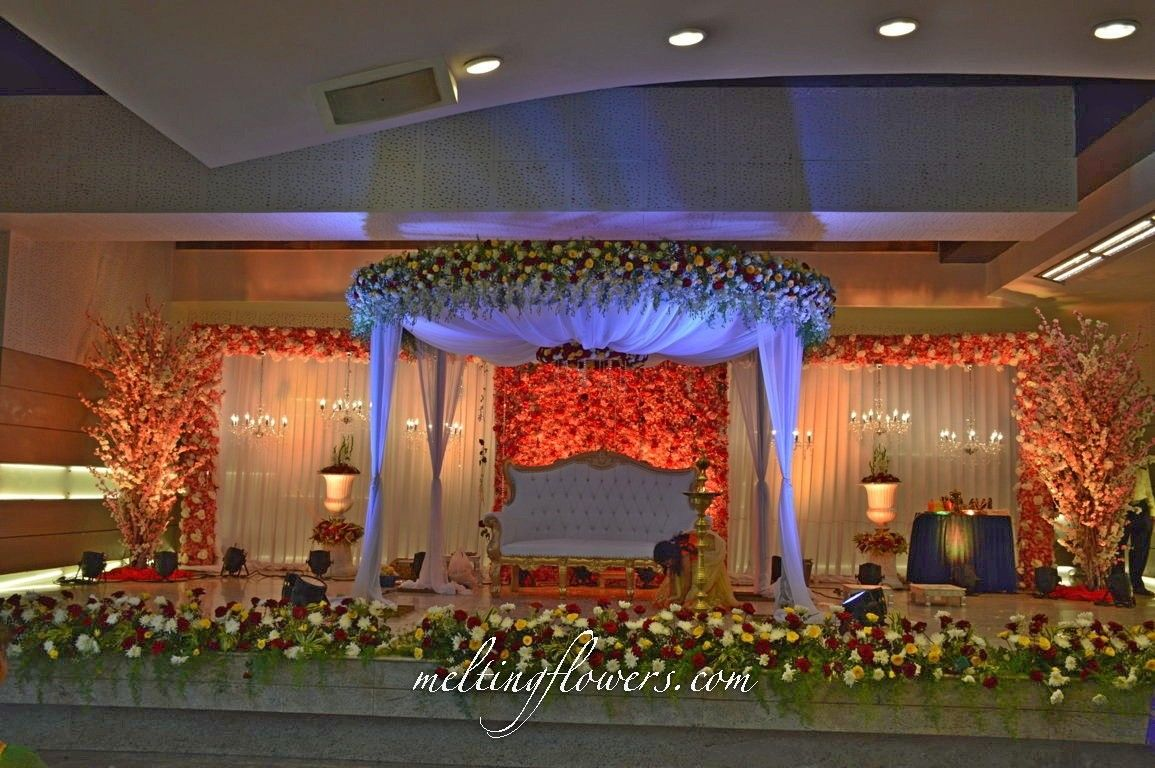 Wedding stage decoration without flowers Unique And Different Reception Stage Decoration Ideas  Wedding