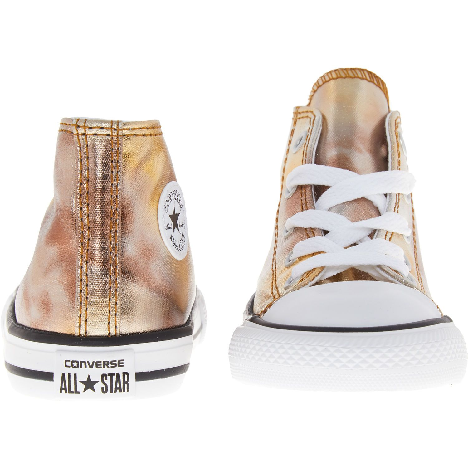 Kids Shoes High Trainers Gold Top Girls' Yyv6b7gf