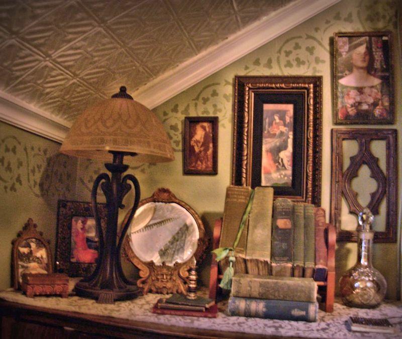 Playroom Workroom Bedroom 1965: An Old Fashioned Girl's Room