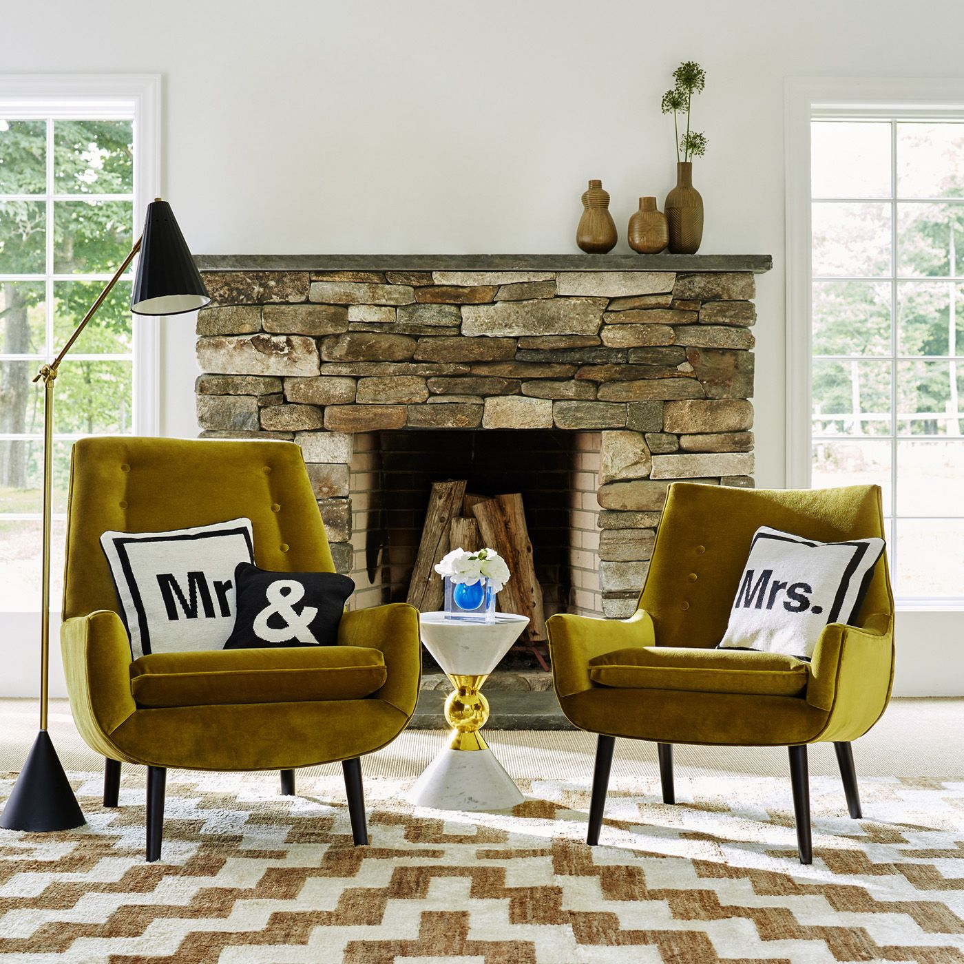 Attractive 25 Bold Living Room Chairs You Will Want This Spring | Modern Chairs.  Velvet Chair. Chair Design. #modernchairs #velvetchair #armchairs Read  More: ...