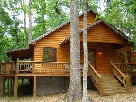 Kickinu0027 Back Cabin   Broken Bow OK   Beaversu0027 Bend State Park   Broken