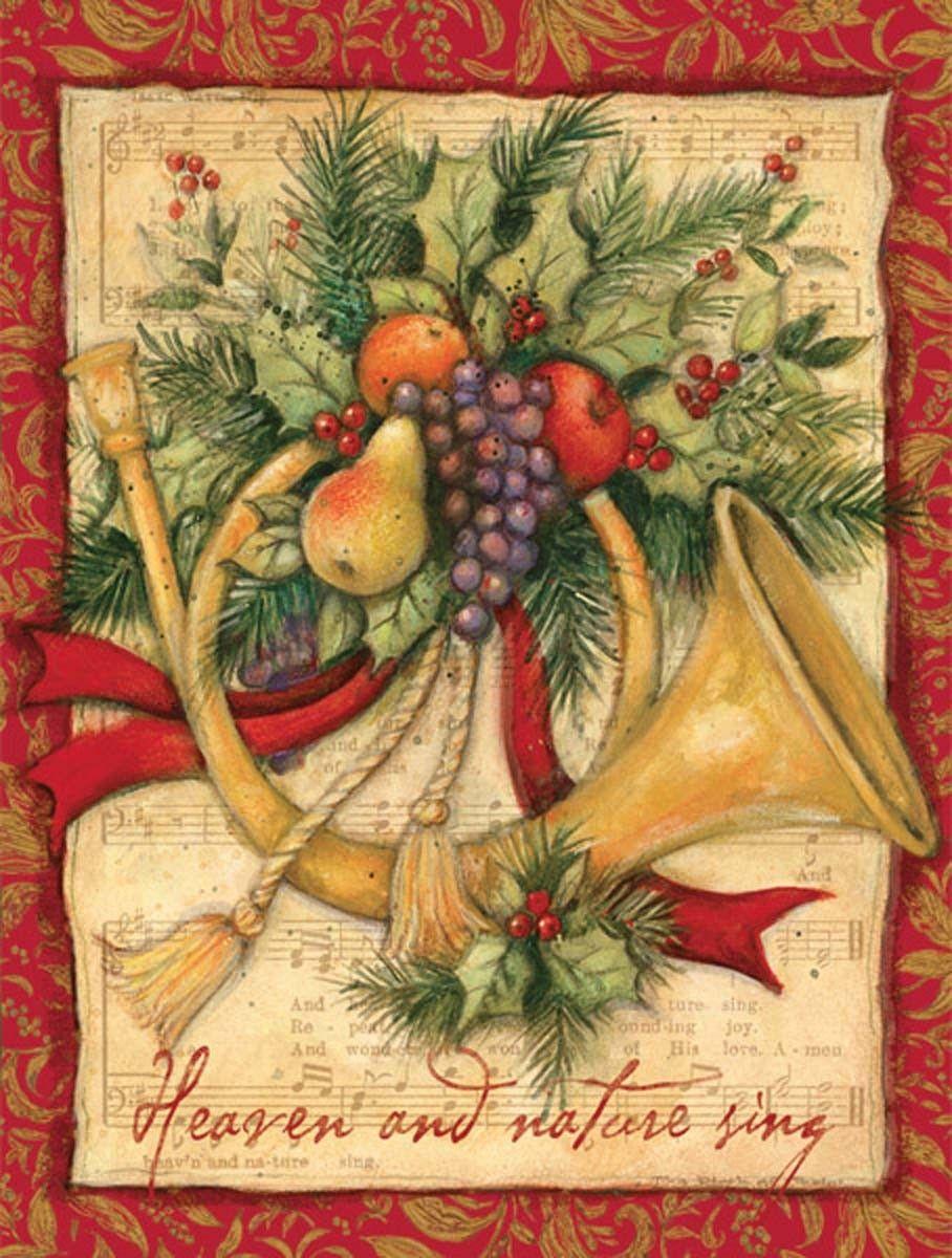 Joy To The World Christmas Cards #Music #Christmas | Christmas Cards ...