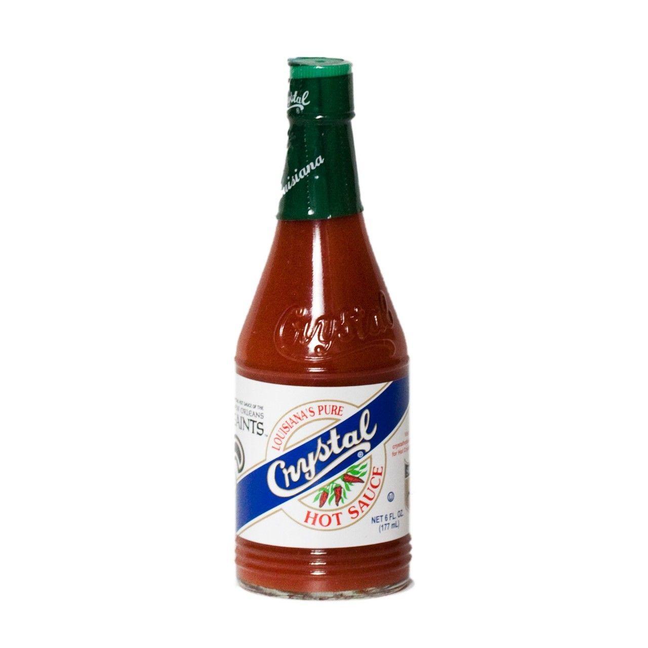 Crystal Hot Sauce Crystal Hot Sauce 6oz Tabasco Hot