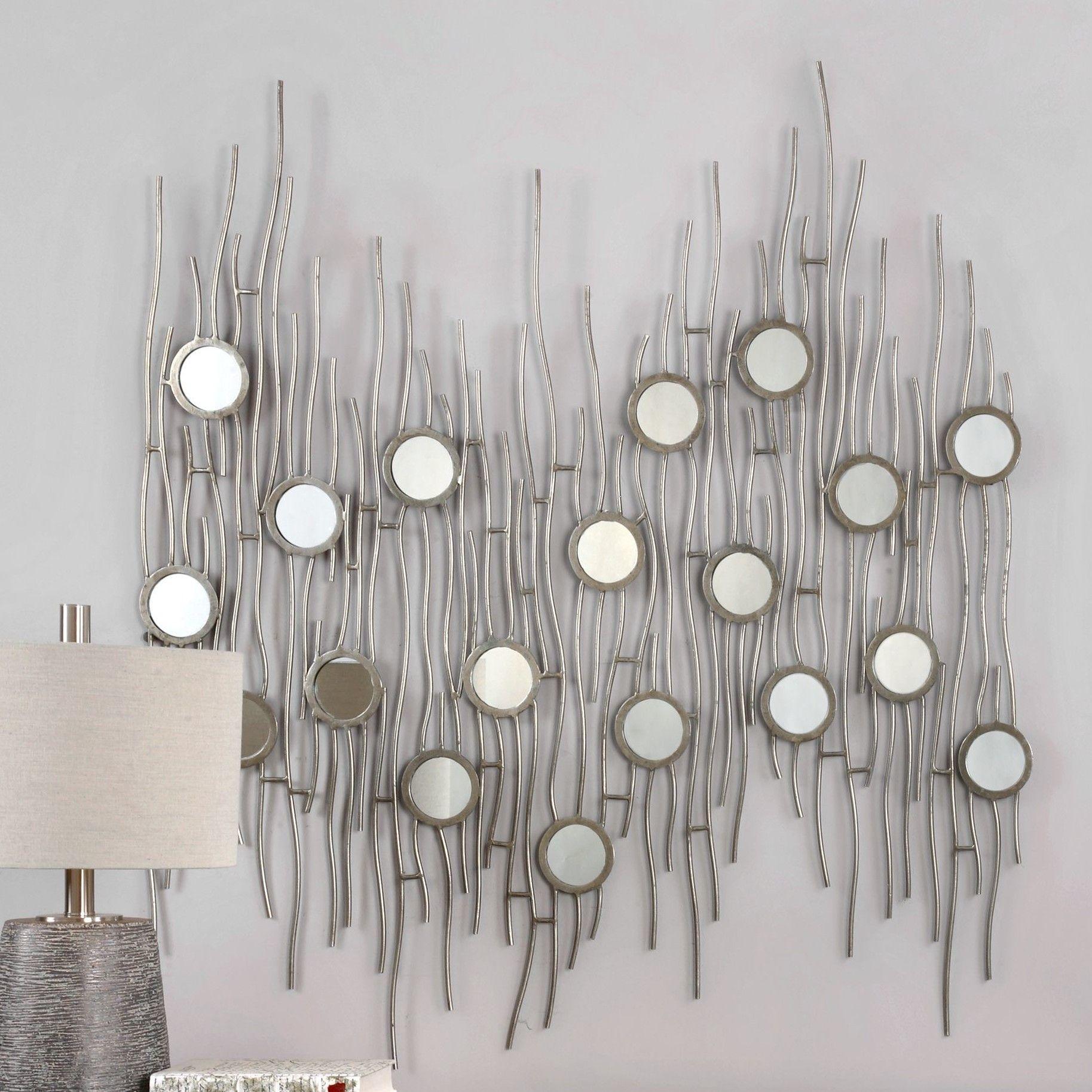 Silver Framed Wall Art