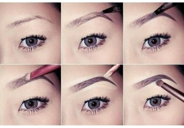 how to make perfect eyebrows with pencil