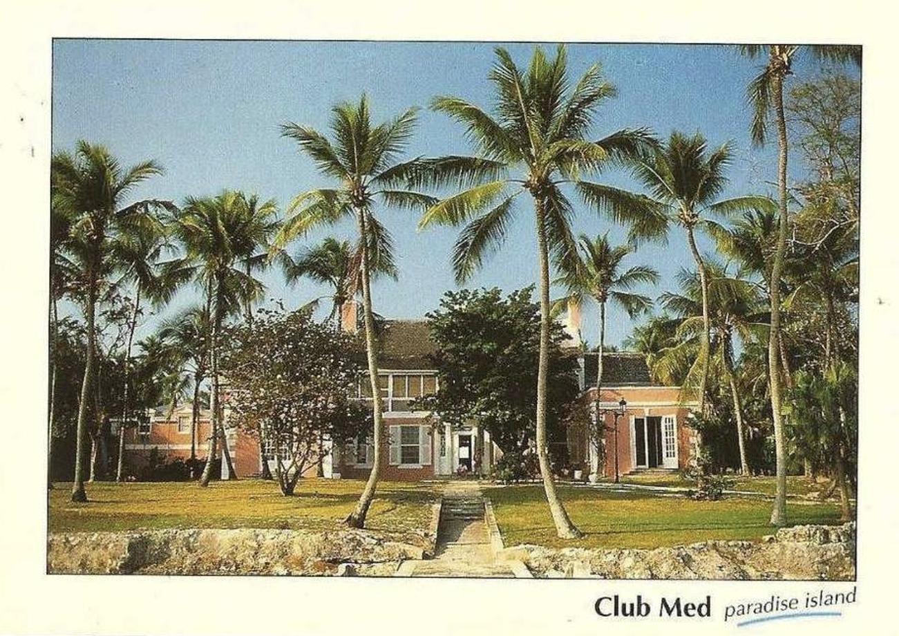 Club Med Paradise Island Nassau Bahamas About 1980 Bahamas Hotels Paradise Island Bahamas