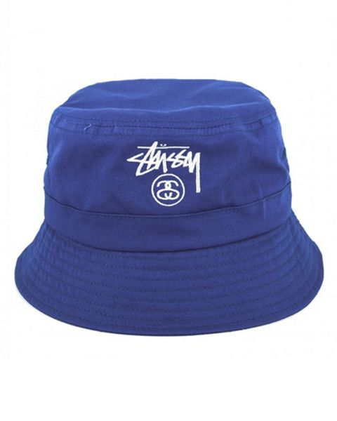 STUSSY HEADWEAR BASIC BUCKET HAT  add7d1e00789