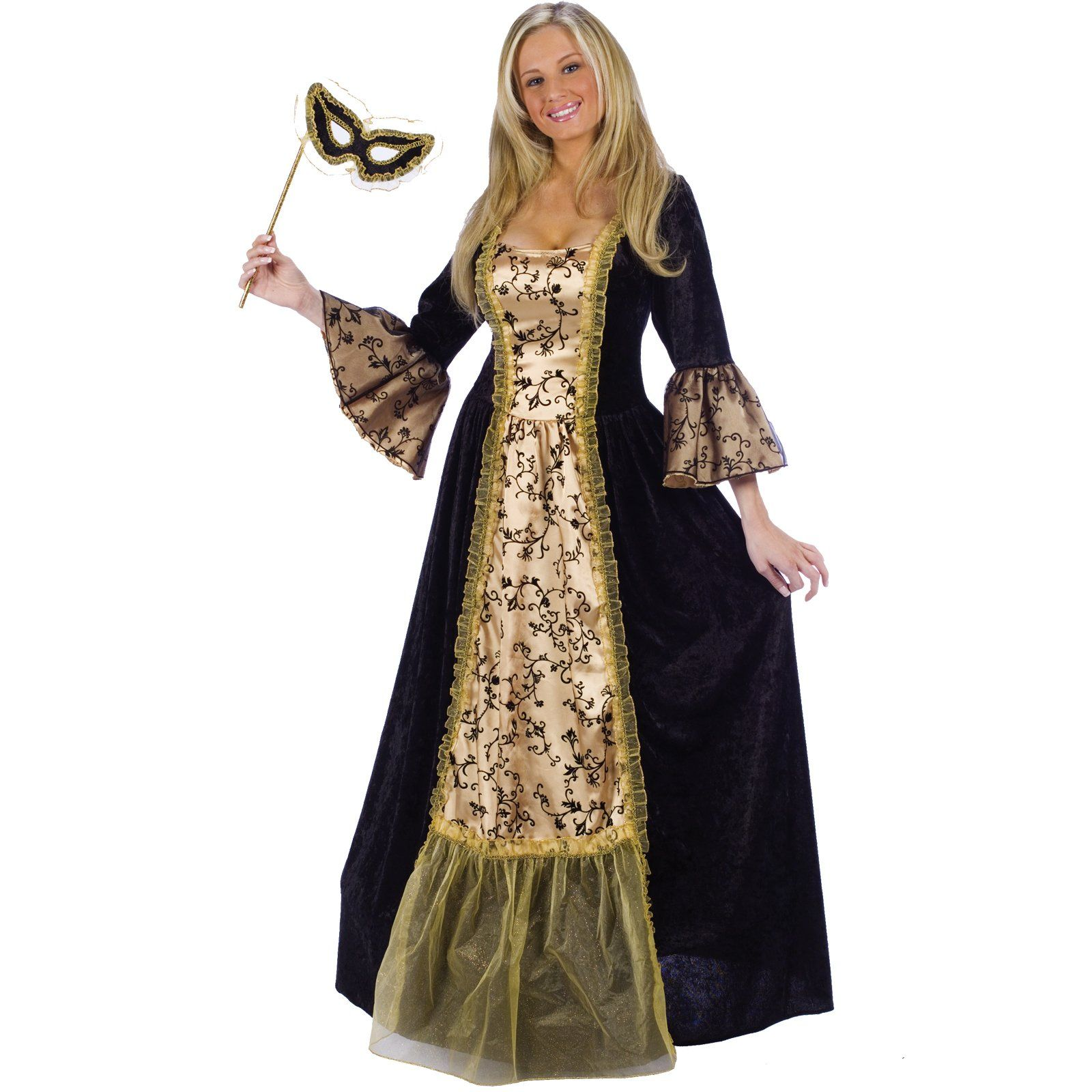 Renaissance Lady Adult Costume | Masquerades, Masquerade dresses and ...