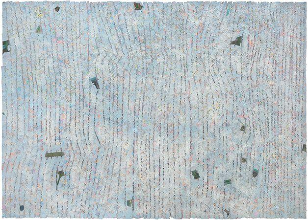 Howardena Pindell: Paintings, 1974–1980 - Selected Works - Garth Greenan Gallery