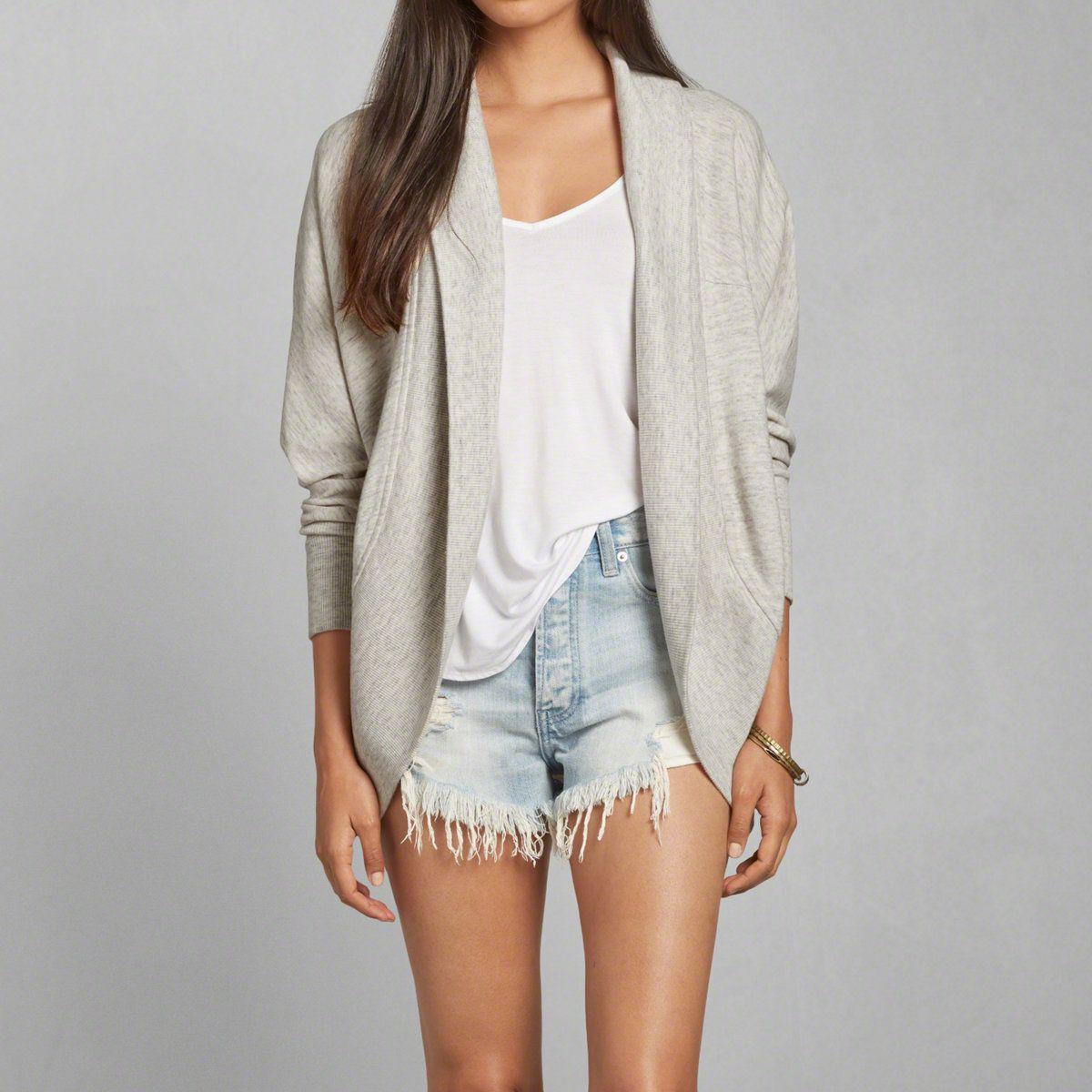 Womens Textured Cocoon Sweatshirt | Womens Hoodies & Sweatshirts ...