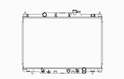 Replacement Tyc 13015 Radiator For 07 11 Honda Element 19010pzda61