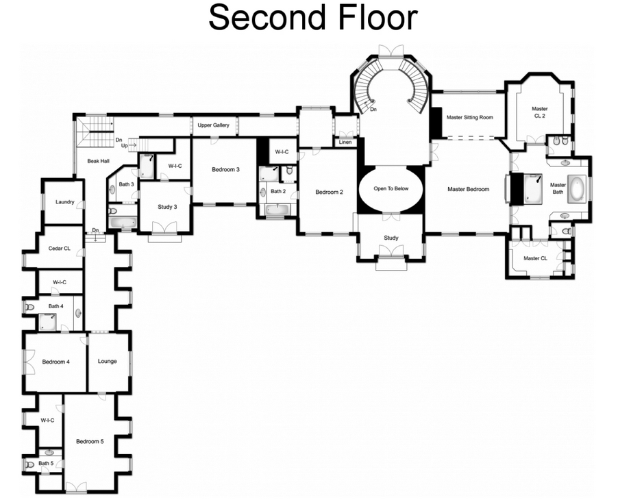 Casas De Los Ricos La Web 1 Blog Inmueble De Lujo Stone Mansion Mansion Floor Plan Luxury House Plans