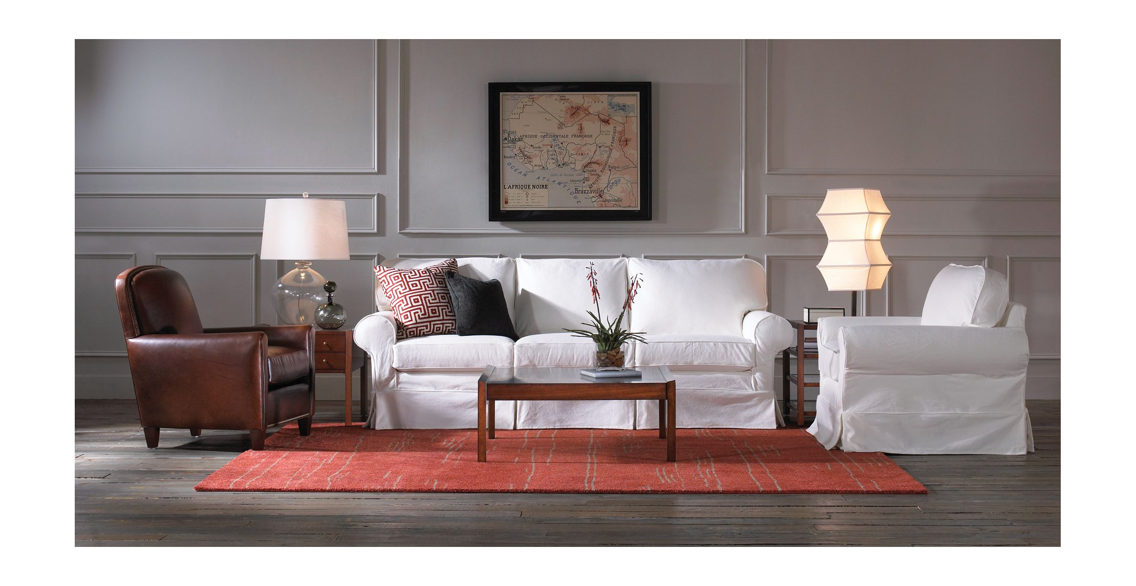 Alexa Sofa From Mitchell Gold + Bob Williams
