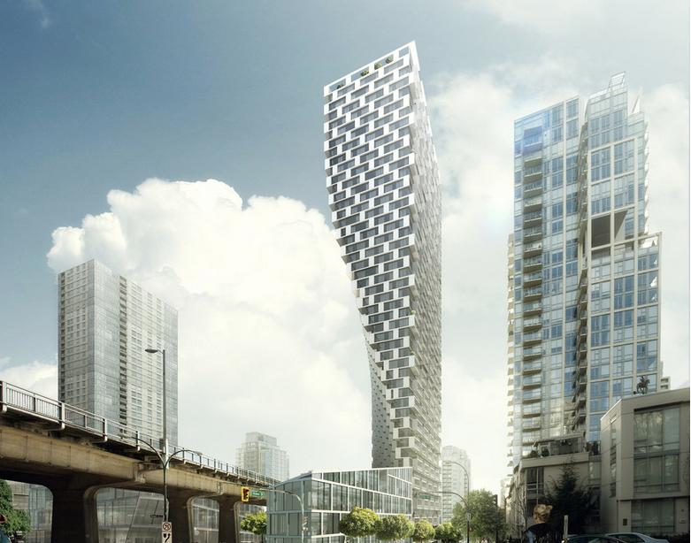 A/N Blog . Video> Bjarke Ingels explains his torquing Vancouver House