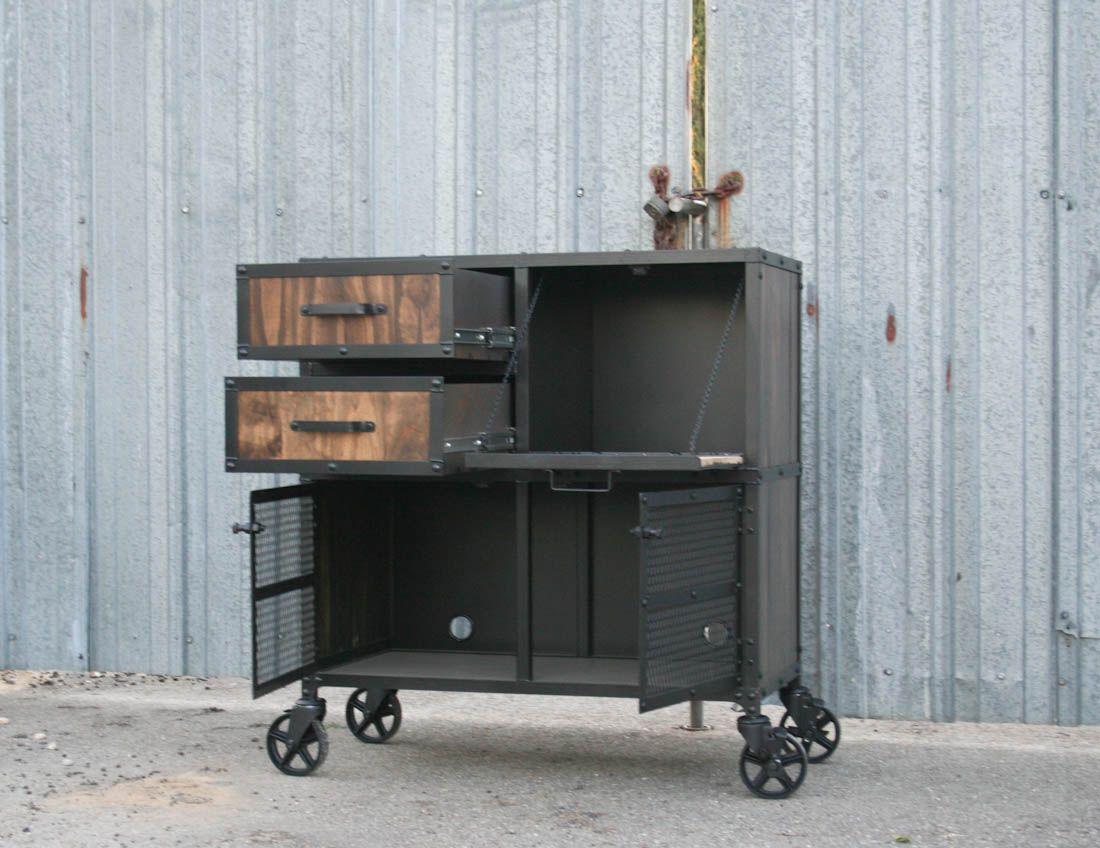 salon workstation, cart 4 | DIY Liquor Cabinet | Pinterest ...