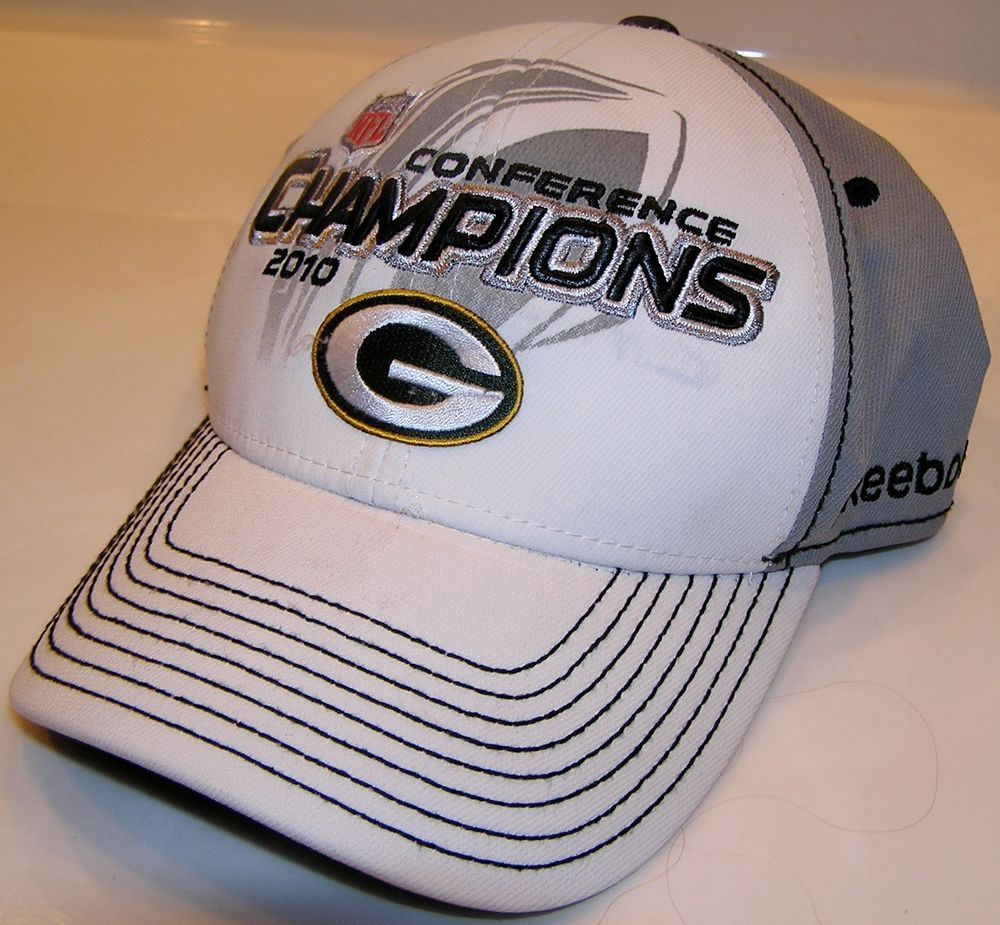 Reebok Green Bay Packers Super Bowl XLV NFL Trophy Collection Flex Fit Cap   Reebok  GreenBayPackers ecff036f4