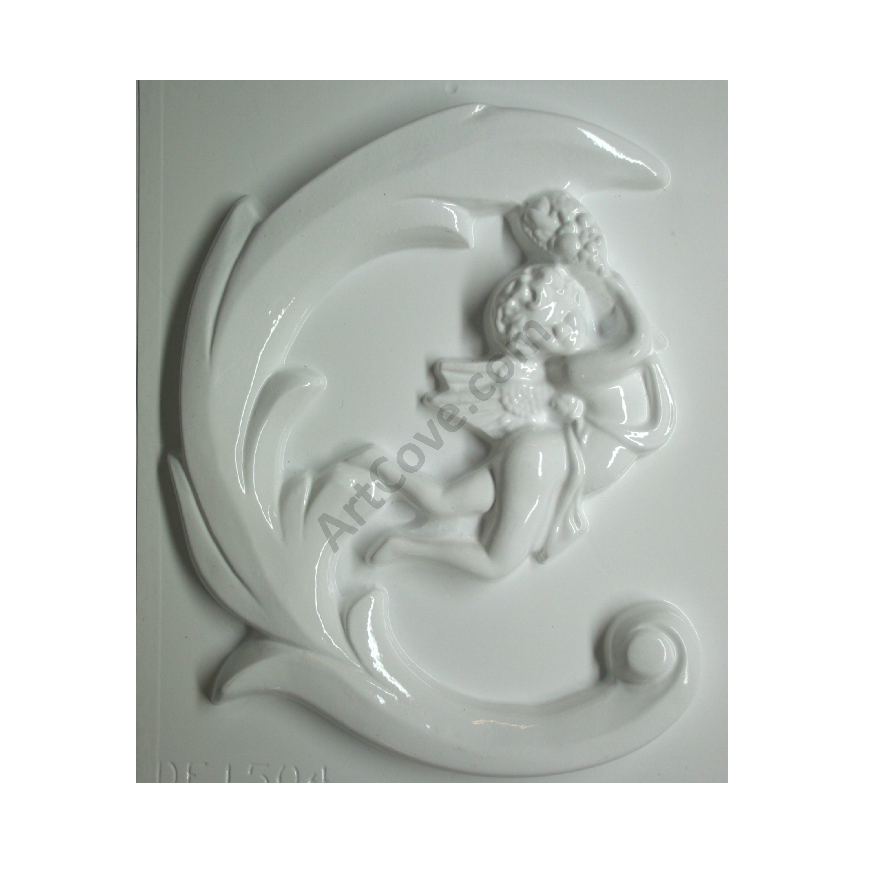 Angel In Arch Plaster Mold 9 1 2 X 11 Inch We Carry The Largest Selection Of Plaster Molds For Sale O Plaster Molds Inexpensive Crafts Craft Projects For Kids