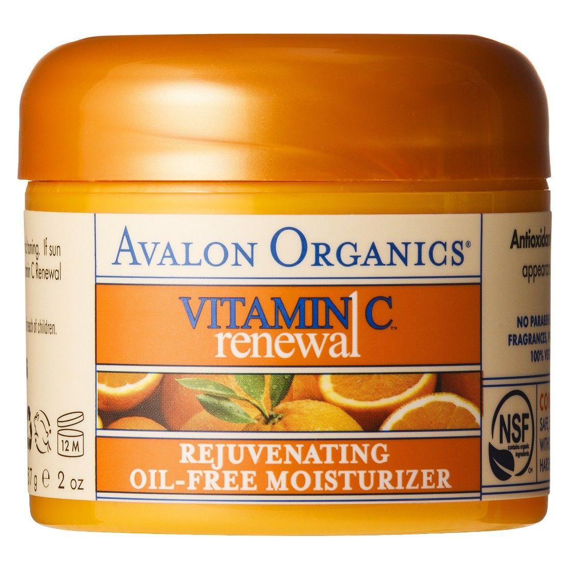Avalon Vitamin C Rejuvenating Oil-Free Moisturizer- 2oz