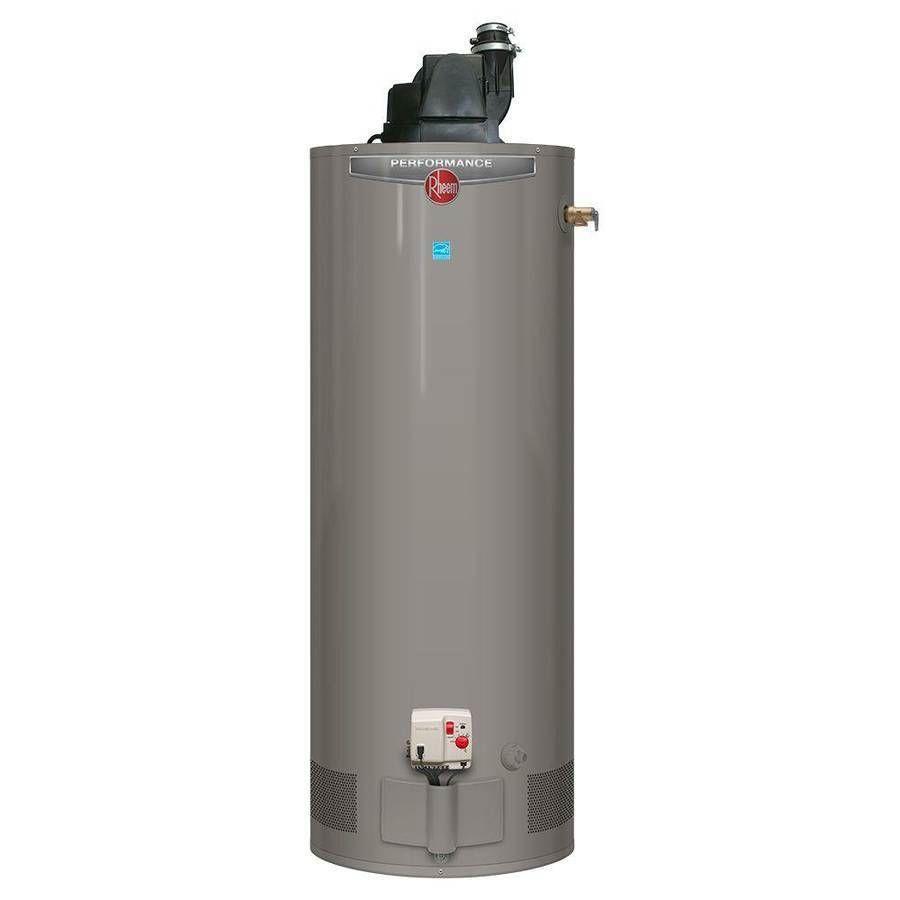 Lowboy Water Heater 50 Gallon Standard Water Heaters 115966 Rheem 50 Gallon Tall Natural Gas
