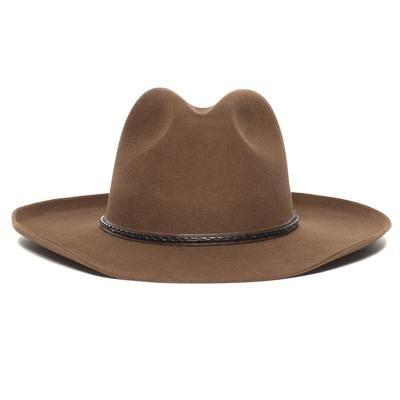 Monroe Hat For Women Men Hat Headwear Bucket Hat Blue Pure Beaver Felt Felt Cowboy Hats Cowboy Hats Mens Hats Fashion